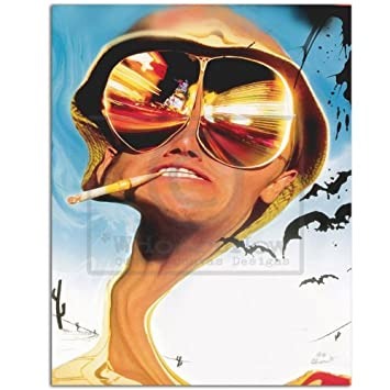 e3da9f666406 Fear and Loathing in Las Vegas Canvas Print: Amazon.co.uk: Kitchen & Home