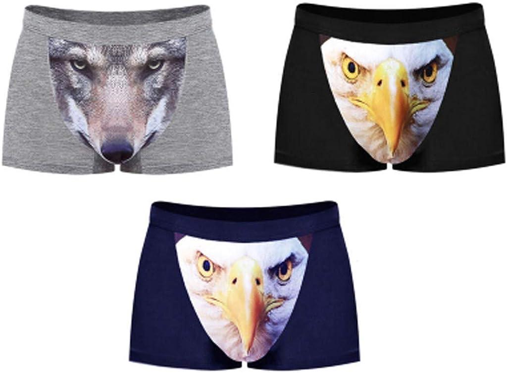 Zebraprime Mens Gen-Gar Boxer Briefs Boyfriend Unique 3D Printed Underwear Underpants