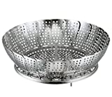 Stainless steel vegetable Petal Steamer small- For Sauce Pan of 20 cm