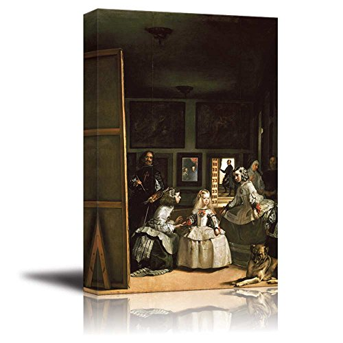 wall26 - Las Meninas(The Maids of Honour) by Diego Velazquez - Canvas Print Wall Art Famous Oil Painting Reproduction - 24