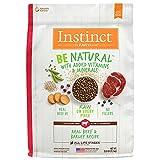 Instinct Be Natural naturales de la receta comida seca para perros por Nature 's variedad (Res, 11.3kg)