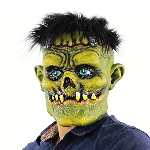 Hophen Monster Scary Masks Creepy Halloween Horror Props Mask For Prank Cosplay Masquerade Parties,Carnival Decorations ()