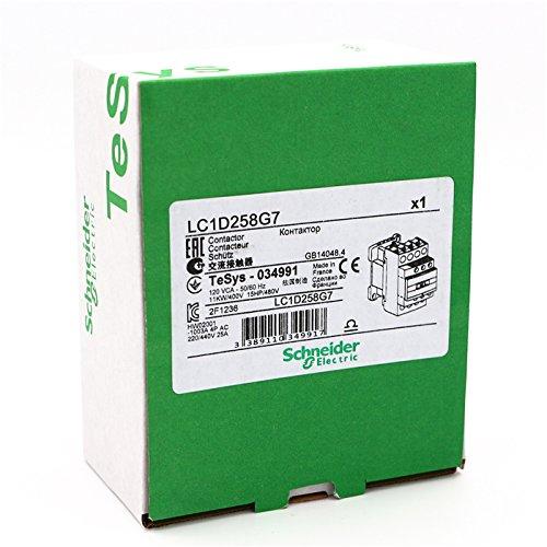 NEW AC Contactor 4P LC1D258 LC1D258G7 LC1-D258G7 40A 120V AC coil by Schneider (Image #4)