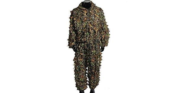 Amazon.com: Ghillie - Traje de leña camuflaje de camuflaje ...