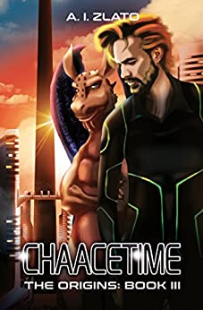 Chaacetime: The Origins - Book 3: A thrilling Hard Science Fiction Detective Trilogy (The Space Cycle - A Metaphysical & Hard Science Fiction Series) by [Zlato, A.I.]