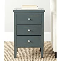 Safavieh American Homes Collection Deniz Steel Teal End Table