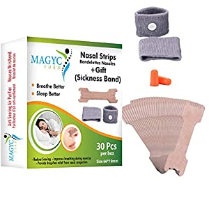 30 Bandelettes Dispositif anti-ronflement pour un sommeil confortable. Dilatateur nasal contre le ronflement. Bracelets…