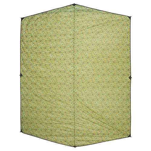 OneTigris Outdoor Hexagonal Camo Sil Tarp Waterproof & Ultralight RipStop Nylon Material 13 x 10ft for Backpacking Hiking Camping (Camo)