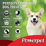 Powerpet 100% Natural Cow Hooves Dog Dental Treats