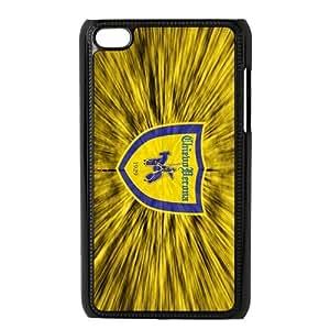 Gialloblu (Yellow-Blues)Associazione Calcio A.C Chievo Verona Personalized IPod Touch 4/4G/4th Generation Hard Plastic Shell Case Cover White&Black(HD image)