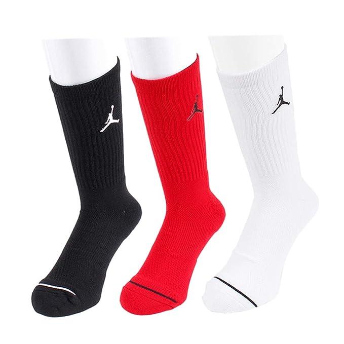 Nike Jumpman Crew 3ppk Calcetines Línea Michael Jordan, Hombre: Amazon.es: Deportes y aire libre