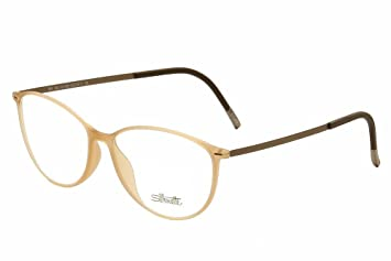 94df44064b Image Unavailable. Image not available for. Color  Silhouette Eyeglasses  Urban Lite 1562 6059 Peachy Nude Optical Frame 53x16x140mm