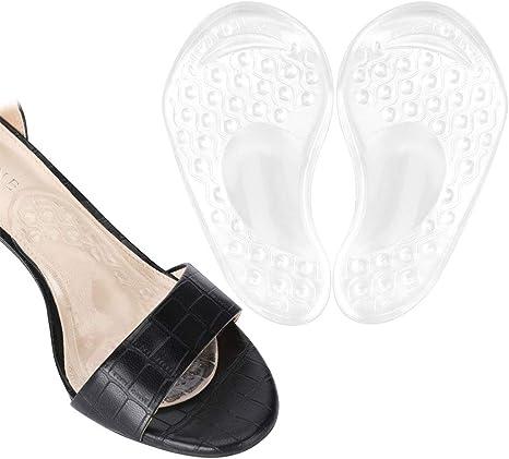 Haofy cuscinetto piede con supporto arco per tacco alto, cuscinetto metatarsale per donne, cuscinetti dell'avampiede per sollievo dal dolore, solette