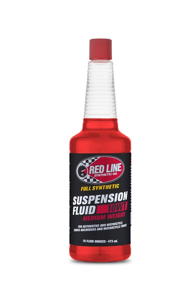 Red Line 91132 Medium 10wt Suspension Fluid - 16 oz, 1 Pack by Red Line Oil