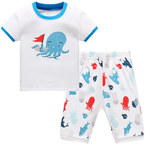 Schmoopy Boys Robot Pajamas Set 2-7 Years