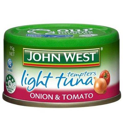 (John West Tuna Tempters Onion And Tomato 95g)
