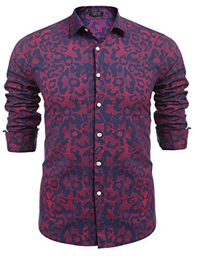 Long Sleeve Fashion Dress Shirt - 3