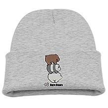 Children Beanie Hat We Bare Bears Ice Bear Self-timer Skull Cap In 4 Colors