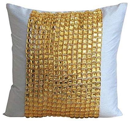 Amazon.com  Designer Light Blue Throw Pillows Cover for Couch 69772fe77