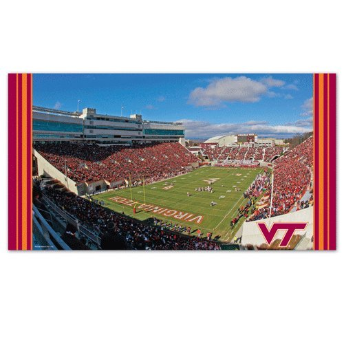 WinCraft NCAA Virginia Tech Mat, Large/28'' x 52'' by WinCraft
