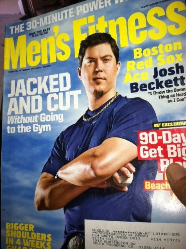 Mens Fitness April 2008: Josh Beckett