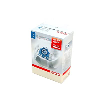 4 Staubsaugerbeutel Miele GN HyClean 3D für Miele S 8320