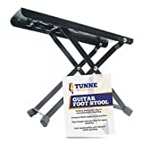 Tunne Guitar Foot Stool Rest is Adjustable for Hours of Comfortable, Painless Playing