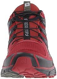 Salomon Men\'s X-Mission 3 Trail Running Shoe, Brique-X/Black/Tempest, 12 D US