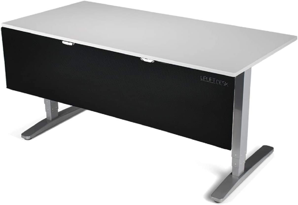 Black 48 Modesty Panel with Wire Management UPLIFT Desk