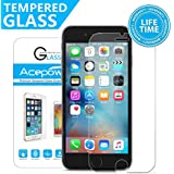 "iPhone 6S Screen Protector, 【3D Touch Compatible】 ACEPower Premium Tempered Glass Screen Protector for Apple iPhone 6 6S 4.7""(Lifetime No-Hassle Warranty)"
