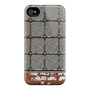 Fashion PC For Case Samsung Galaxy Note 2 N7100 Cover- Rusty Metal Brick Defender