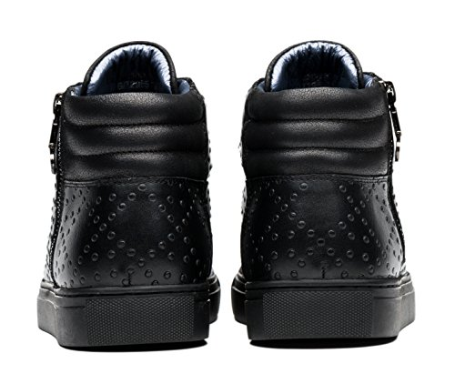 Black Opp Leather Fashion Top Shoes Sneaker Casual 1 High Mens OPP RSHqx88v