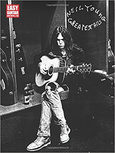 Amazon.com: Neil Young Greatest Hits Easy Guitar With Notes And Tab ...