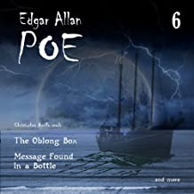 Message Found in a Bottle and The Oblong Box: Edgar Allan Poe Audiobook Collection, Volume 6