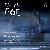 Message Found in a Bottle and The Oblong Box: Edgar Allan Poe Audiobook Collection, Volume 6 | Edgar Allan Poe, Christopher Aruffo