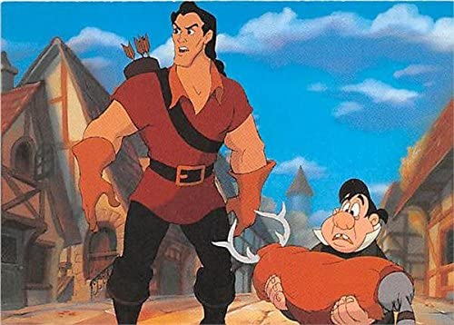 Gaston And Lefou Beauty And The Beast Trading Card 1992 Disney Pro Set 7 At Amazon S Entertainment Collectibles Store
