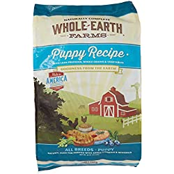 Merrick Whole Earth Farms Puppy Dry Dog Food, 25 lbs.