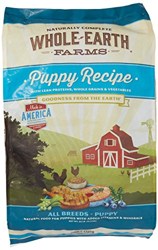 Cheap Whole Earth Farms Puppy Dry Dog Food, 25 Lbs.