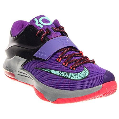 "Men's Nike KD 7 ""Lightning 534"" Basketball Shoes - 653996..."