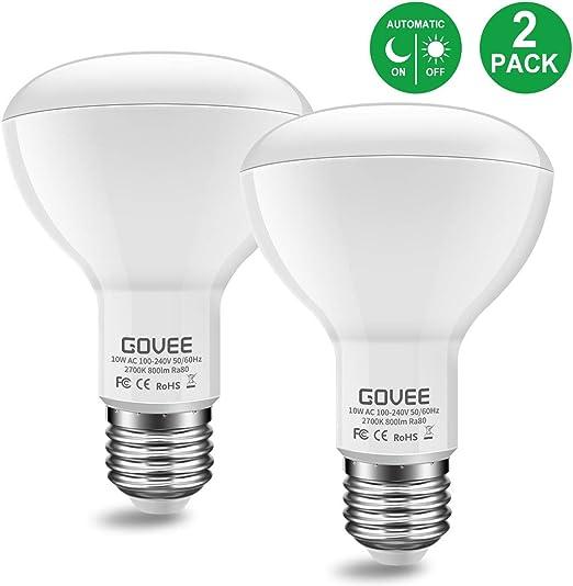 2 in 1 Smart LED 7w Light Bulb Switch between 6500k//3000k Daylight /& Warmwhite