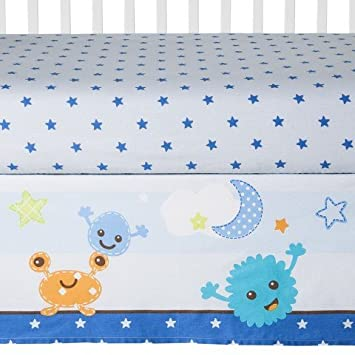 Sumersault 6 Piece Crib Bedding Set Monster Mash