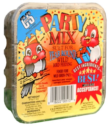 C & S Products Party Mix, 12-Piece,11 oz by C & S