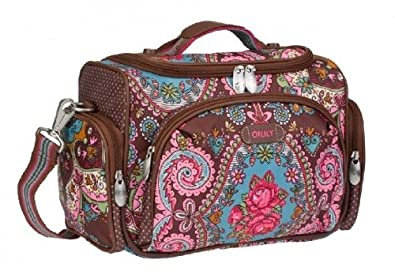 oilily beauty case brown cosmetic travel bag shoes bags. Black Bedroom Furniture Sets. Home Design Ideas