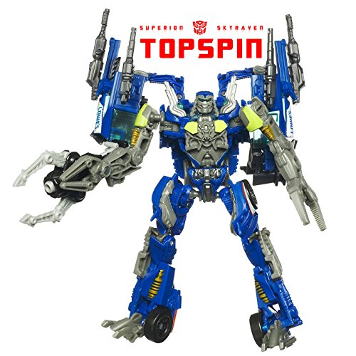 [Transformers Age Of Extinction Voyager Revenge Dotm Autobot Topspin Exclusive Action Figure New in] (Transformers 4 Lockdown Costume)