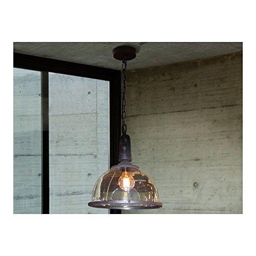 Schuller Spain 546830I4L Modern, Art Deco Black Hanging Ceiling Light Pendant cafe pendant light 1 Light Dining Room, Living Room, Kitchen Molded Glass | ideas4lighting by Schuller
