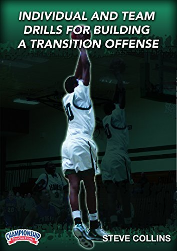 Steve Collins: Individual & Team Drills for Building a Transition Offense (DVD) by Steve Collins