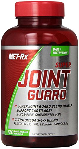 MET-Rx Super Joint Guard, 120 count, Joint Supplement with Glucosamine, Chondroitin, and Omega-3 Fatty Acids