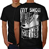High Top Sneaker Shoe Urban Love Men S-5XL T-shirt Back | Wellcoda