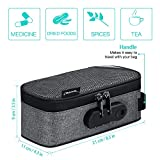 Veeape Smell Proof Bag Case with Combination