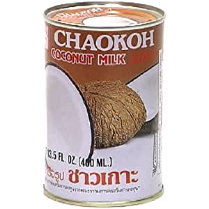 Chaokoh Coconut Milk, 13.5-Ounce (Pack of 8)